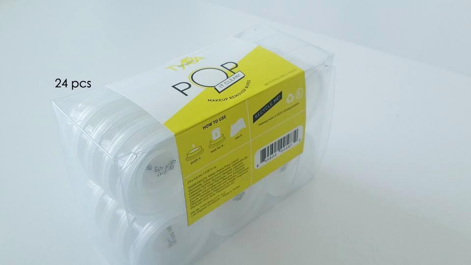 Envase 24 unidades toallitas encapsuladas PushClean