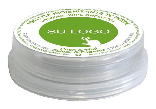 Toallitas Personalizadas Push Clean – Té Verde